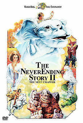 The Neverending Story 2: The Next Chapter (DVD, 2001)