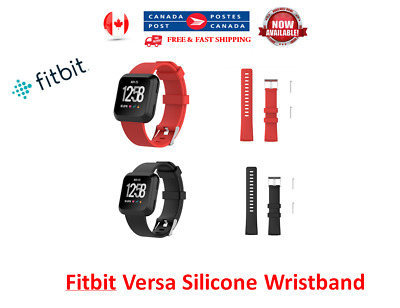 Replacement Silicone Wrist Band Strap For Fitbit Versa Wristband Small Large