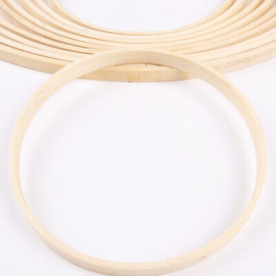1pc Embroidery Hoops Bamboo Durable 15cm Art Craft Circle Hoop Ring for Wedding