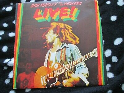 Bob Marley And The Wailers Live! At The Lyceum Island ILPS9376 Vinyl Album LP