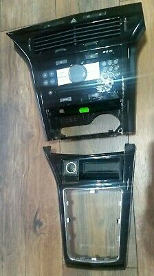 Vauxhall Astra H Mk5 Piano Black Dash Trim ,Cd Only Front Panel  04-10