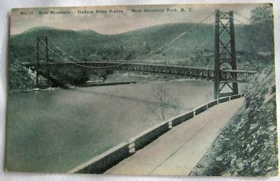 Vintage Postcard of BEAR MOUNTAIN HUDSON RIVER BRIDGE    #45-k