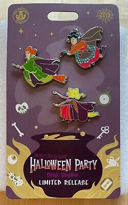 WDW 2019 Mickey's Not So Scary Halloween Party Hocus Pocus Sanderson Sisters Pin
