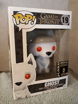 Ghost GOT Funko Pop Vaulted 2014 Flocked Exclusive (Game of Thrones) SDCC