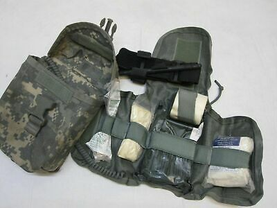 Used Army Acu Digital First Aid Kit Ifak Medical Supplies Cat Tourniquet