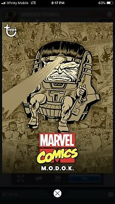 Topps MARVEL COLLECT Digital Card Trader COMIC CLASSIC WAVE 1 SEPIA - M.O.D.O.K.