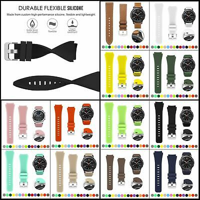 Bands for Samsung Gear S3 Frontier/Classic Watch Silicone Bracelet Sports Band