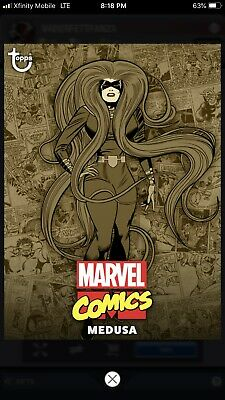 Topps MARVEL COLLECT Digital Card Trader COMIC CLASSIC WAVE 1 SEPIA - MEDUSA