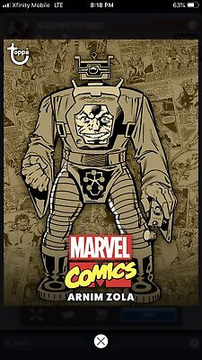 Topps MARVEL COLLECT Digital Card Trader COMIC CLASSIC WAVE 1 SEPIA - ARNIM ZOLA