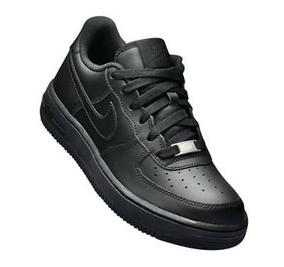 Hurt Nowe Produkty najnowszy projekt NIKE AIR FORCE 1 Low Black GS 314192-009 Leather Shoes Youth ...