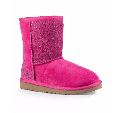 Ugg Girls' Classic Short Serein 1013259-DVPN Big Kids Youth Boots