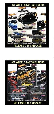 Hot Wheels 2 Different Sets Fast & Furious Rewind & Fast Off Road Pre Order !!!