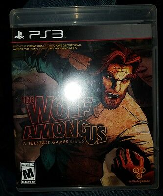 The Wolf Among Us (Sony PlayStation 3, 2014)NO  MANUAL