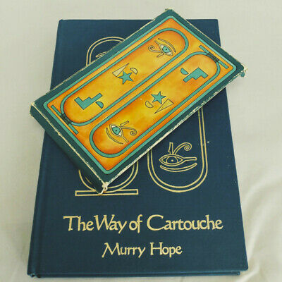 The Way Of Cartouche Tarot Oracle Cards & Book Set 1st Edition Murry Hope