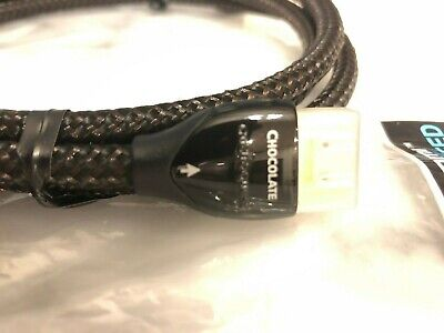 AudioQuest Chocolate High Speed with Ethernet,4K HDMI Cable,2M New,MSRP-$159.95