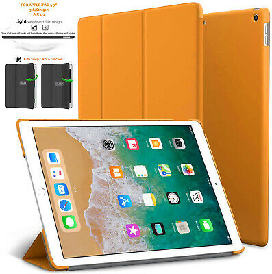 Leather Smart Slim Case Cover Stand For Apple iPad 6th Gen 2018 iPad 5 2017