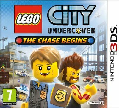 LEGO CITY UNDERCOVER THE CHASE BEGINS gioco  NINTENDO 2DS 3DS 2 DS 3 DS
