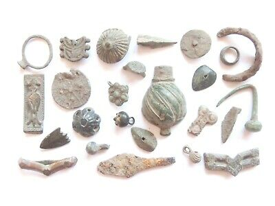 Lot of Misc. Ancient Bronze / Iron / Lead / Billon Artifacts