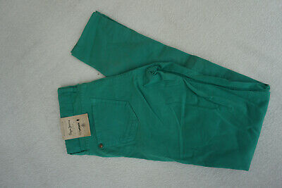 Pepe Jeans Lettepix Children's Girl's Stretch Slim Trousers 11-12/140-152 Green