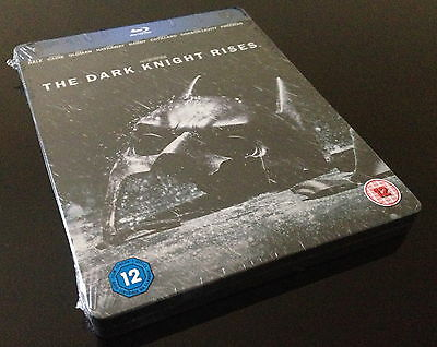 Steelbook Blu Ray Batman The Dark Knight Rises Hmv Exclusive // Audio Fr // Neuf