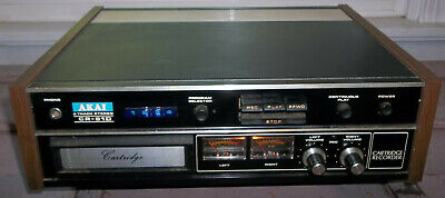 Akai Cr-81D 8 Track Tape Deck Player Recorder~Rare In This Nice Working Cond