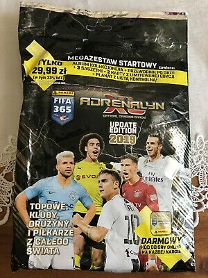 Panini Adrenalyn XL FIFA  2019 STARTER PACK UPDATE EDITION X2 NEW