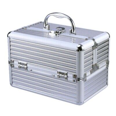 Makeup Case Professional Cosmetic Box Beauty Train Case Cosmetic Organizer