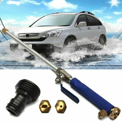 Aluminium High Pressure Power Washer Spray Nozzle Water Gun Hose+2 Spray Tip
