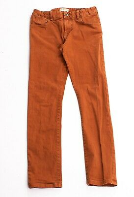Boys Scotch Shrunk Orange Strummer Fit Denim Jeans Size 12