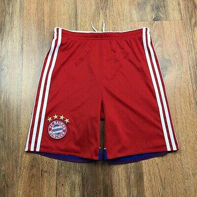 Bayern Munich Adidas 2014 Football Shorts Size 13-14 Years D164 (N032)