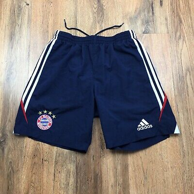 Bayern Munich Adidas 2009 Football Shorts With Pockets Size Small 32 D5 (N040)