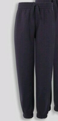 Girls jogging bottoms SIZE 4 YEARS OLD navy blue sweat pants Fleece