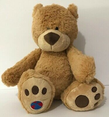 BUDDY BALLS  MAX SOFT TOY BROWN TEDDY BEAR THAT TURNS INTO A BALL BRAND NEW