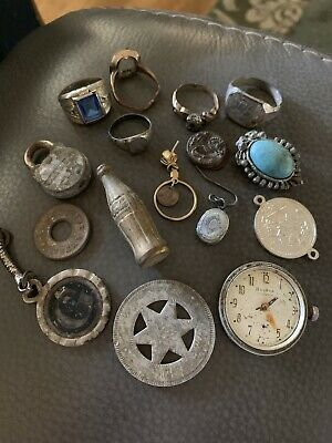 Metal Detector & Junk Drawer Finds Jewelry & Misc""