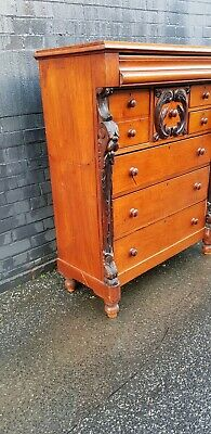 Antique Chest of Drawers Victorian