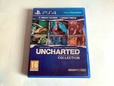 ***Uncharted Nathan Drake Collection - Sony Playstation 4 Ps4***