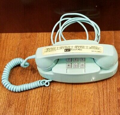 Bell System Aqua Blue Model 2702B Princess Telephone Working. Vintage. Works.