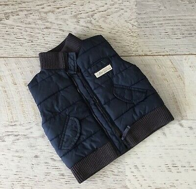 COUNTRY ROAD BABY BOYS  PUFFER VEST SZ 6 - 12 MONTHS (sz 0 )