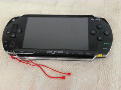 Z5049 Sony PSP 1000 console Black Handheld system Japan JUNK For Parts