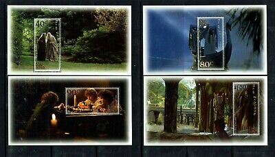 New Zealand: 2001 Lord of the Rings (series 1)  Film, MNH 6 m/s set
