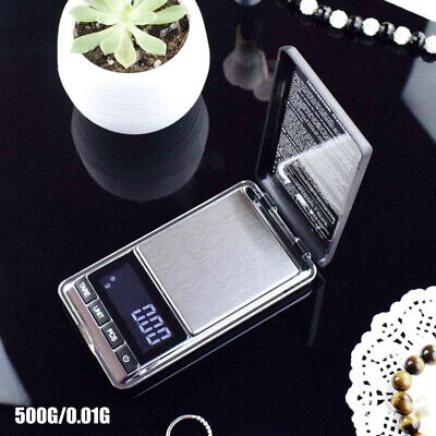 500g/0.01 DIGITAL POCKET SCALES JEWELLERY ELECTRONIC milligram micro Tool