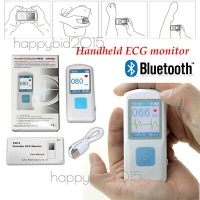 PM10 Portable ECG Monitor Bluetooth obesity, chest pain, palpitations,heart test