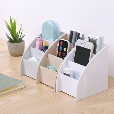 Remote Control Holder Storage Box Table Desk Case Home Organizer Shelf Rack