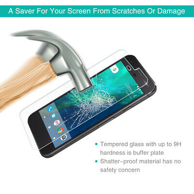 Full Coverage Screen Protector Tempered Glass Screen Protector for Google Pixel