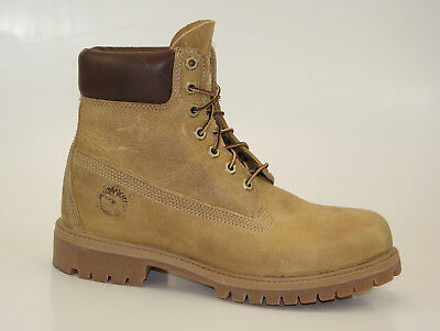 Uomo Scarpe In Forma Timberland af 6 in premium beige boots