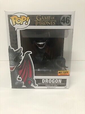 FUNKO Pop Game Of Thrones DROGON #46 Hot Topic / GOT / Dragon / 6 Inch/ Rare