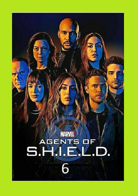 New & Sealed Agents of S.H.I.E.L.D. SHIELD Season 6 SIX (DVD,3-Disc)