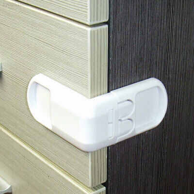 7AEE Child Cabinet Safety Lock Creative Cupboard ABS Baby Safety Lock Cabinets