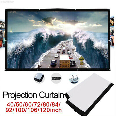 4CC1 Home Theater Folded Projection Screen Portable Education 4:3