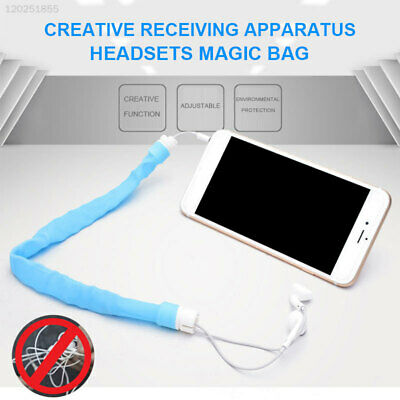 Bobbin Earphone Cable Winder Mini Headphone Silicone Earphone Cord Winder Wrap